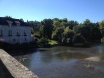Vue de La chartre sur le Loir
